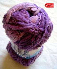 Tundra Fancy Shawl Yarn in shades of purple by HandyFamily on Etsy, €4.50