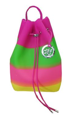 American Jewel Large Jelly Backpack Purse
