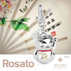 #Rosato Jewels - My #City Collection - my #amulet from #Japan - #goodluckcharm
