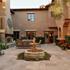 117 Best Mexican Courtyard Images Farmhouse Gardens Hacienda Style