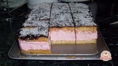 Málnás-mascarponés piskóta Hungarian Cake, Hungarian Recipes, Hungarian Food, Bread Dough Recipe, Different Cakes, Vanilla Cake, Nutella, Sweet Recipes, Cheesecake