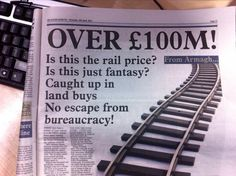 (applause) Twitter / eljmayes: Whoever wrote this headline ...