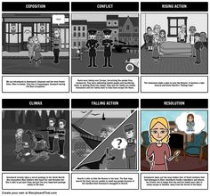 Number the Stars by Lois Lowry - Plot Diagram: A common use for Storyboard That is to help students create a plot diagram of the events from a book. Not only is this a great way to teach the parts of the plot, but it reinforces major events and help students develop greater understanding of literary structures.