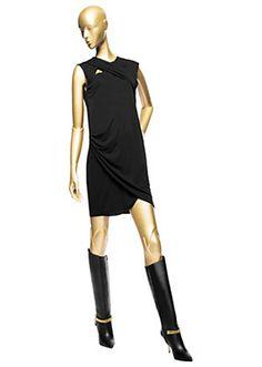 Versace - Cut-Out Short Mini Dress