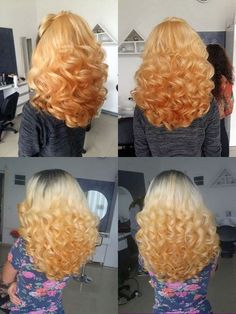 Full Hair, Big Hair, Long Curly Hair, Curly Hair Styles, Curl Curl, Beautiful Long Hair, Curlers, Retro, Fashion