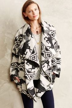 NWT-Anthropologe-Women-Mustang-Wrap-Jacket-by-Capulet-sz-L-Sold-Out-Rare