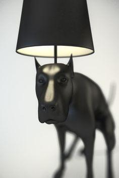 Pooping Dog Lamps
