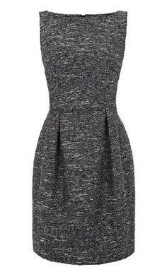 Karen Millen Metallic Fabric Dress.