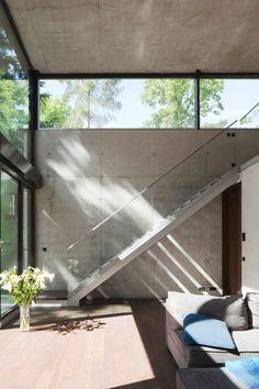 #minimal #concrete #windows #glass