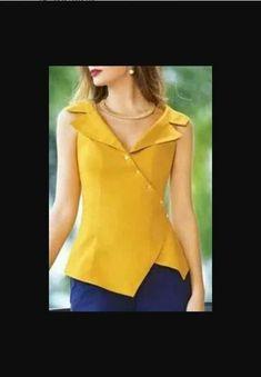 Best 11 Blusa assimétrica com gola | DIY – molde, corte e costura – Marlene Mukai – SkillOfKing.Com