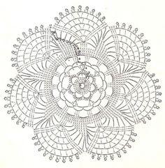 dessous de verres - Fleurs et Applications au Crochet
