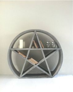 Little Pentacle/star Bookcase