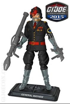G Joe Combat Heroes Flint avec Big Green pistolet de Wave 2 I