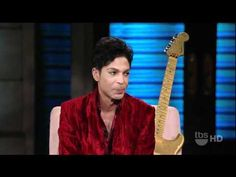 4-13-11 Prince Shows off Guitar, Talks Being Vegetarian, & Discusses Music on Lopez Tonight