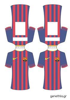 Barcelona FC Candy Bar para Descargar e Imprimir Gratis | Todo Candy Bar