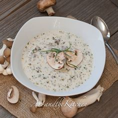 Homemade Mushroom Soup | Art and the Kitchen
