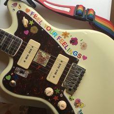 Music Aesthetic, Retro Aesthetic, Travel Aesthetic, Ukulele, Arte Peculiar, Cool Electric Guitars, Electric Music, Japon Illustration, Guitar Design