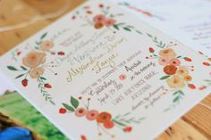 Coley Kuyper: Whimsical Garden Wedding Invitations