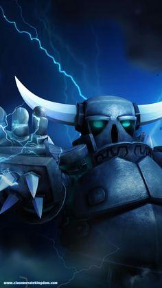 Super Pekka u can't kill her Clash Of Clans Troops, Coc Clash Of Clans, Clash Of Clans Hack, Royal Wallpaper, Lion Wallpaper, Game Coc, Clas Of Clan, Titan Logo, Character Illustration