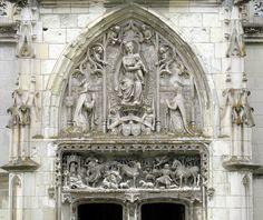 La chapelle Saint-Hubert. Château d'Amboise
