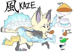 Kaze The Foxfan APPROVED by RayFierying.deviantart.com on @DeviantArt