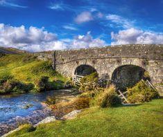 Lower Cherrybrook Bridge, Dartmoor.