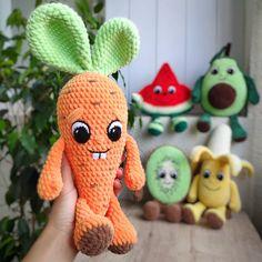 CROCHET CARROT PATTERN Amigurumi carrot with bunny ears | Etsy