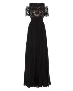 Temperley London | Black Long Catherine Dress | Lyst