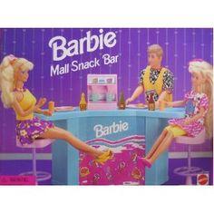 Barbie Mall Snack Bar 1995