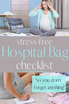 Are you getting ready to start packing your hospital bag? If so, you will want this free printable checklist for mom, dad, and baby so you are ready. Pregnancy Freebies, Pregnancy Advice, Pregnancy Hospital Bag, First Pregnancy, Carters Baby Girl, Baby Girls, Baby Girl Diaper Bags, Hospital Bag For Mom To Be, Hospital Bag Checklist