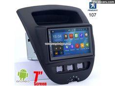 Peugeot 107 Android In Car Media Radio WIFI GPS camera navigation