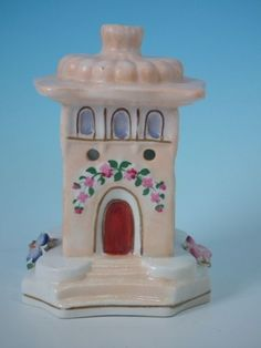 Staffordshire tower pastille burner