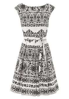 F Limited Edition Floral prom dress - reminds me of Indian block prints.