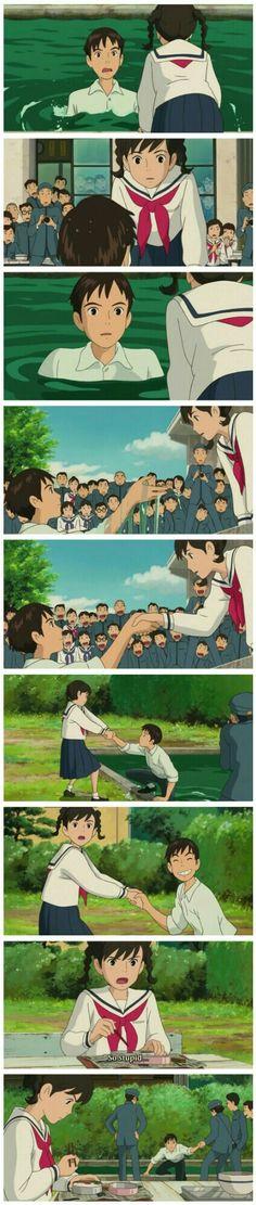 Studio Ghibli Art, Studio Ghibli Movies, Howl's Moving Castle, Totoro, Studio Ghibli Characters, Castle In The Sky, Favorite Cartoon Character, Arte Disney, Manga Anime