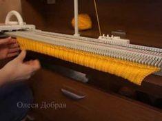 Вяжем следки-тапочки на однофонтурной вязальной машинке Silver Reed Lk-150. Описание и советы - YouTube