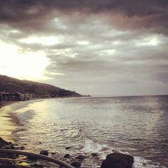 Early morning clouds… #malibubeachinn #carbonbeach