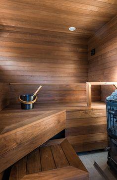 How Much Does an Infrared Sauna Cost? Basement Sauna, Sauna Room, River House Decor, Piscina Spa, Building A Sauna, Sauna House, Outdoor Sauna, Sauna Design, Finnish Sauna