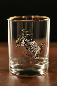 Upland Gamebirds, Double Old Fashioned Glasses