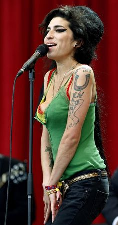 Amy Winehouse. Would have loved to have seen her live, so she's on my Pinstival Line up.