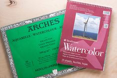 TOOLBOX: Watercolor Basics posted by Rachel...Watercolor is one of my favorite mediums and since we are exploring this theme all month with our DIY Challenge, I thought I'd put together an introductory post for anyone interested in trying watercolor for the first time.