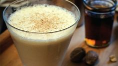 my favorite winter cocktail - Brandy Alexander. (History and recipe here.)
