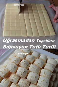 Donut Recipes, Cookie Recipes, Dessert Recipes, Coconut Cookies, Sugar Cookies Recipe, Homemade Donuts, Cookery Books, Sweet Tarts, Turkish Recipes