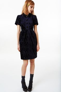 orla kiely fall 2013 by calivintage - fabric and cut of dress are lovely - timeless piece