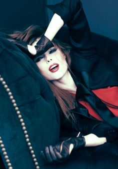 "Editorial ♥ || ""Super Role Model"": Coco Rocha for Oceana Magazine 2012 by Chris Nicholls"
