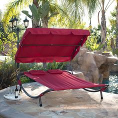 Amazon.com : Bellezza© Swimming Pool Double Hammock Bed Sun Lounger Chaise…