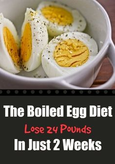 Many health experts and nutritionists claim that the boiled egg diet will help you burn up to 24 pounds in just two weeks. Plumpness is one of the biggest health problems in the United States. Obes…