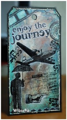 12 Tags of 2013 - Tim Holtz challenge