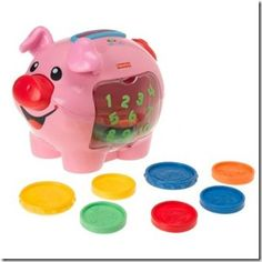 Feed the Pig...Fisher Price...fun game for younger students