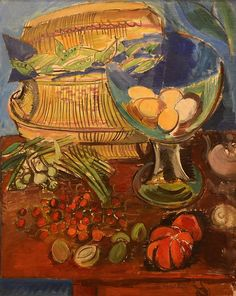 Still Life, 1925, by Raoul Dufy (French, 1877-1953).