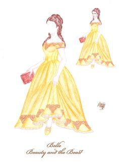 Bea's Secret Wardrobe - Belle by maya40.deviantart.com on @deviantART